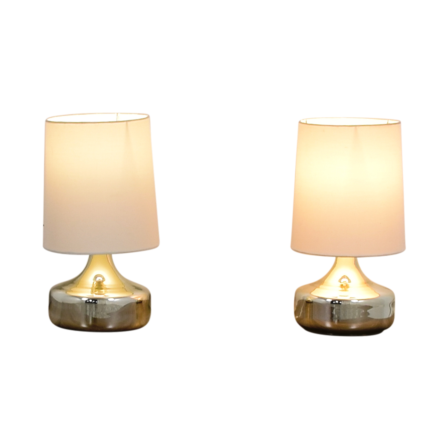 Crate and Barrel Crate & Barrel Silver Lamps Sofas