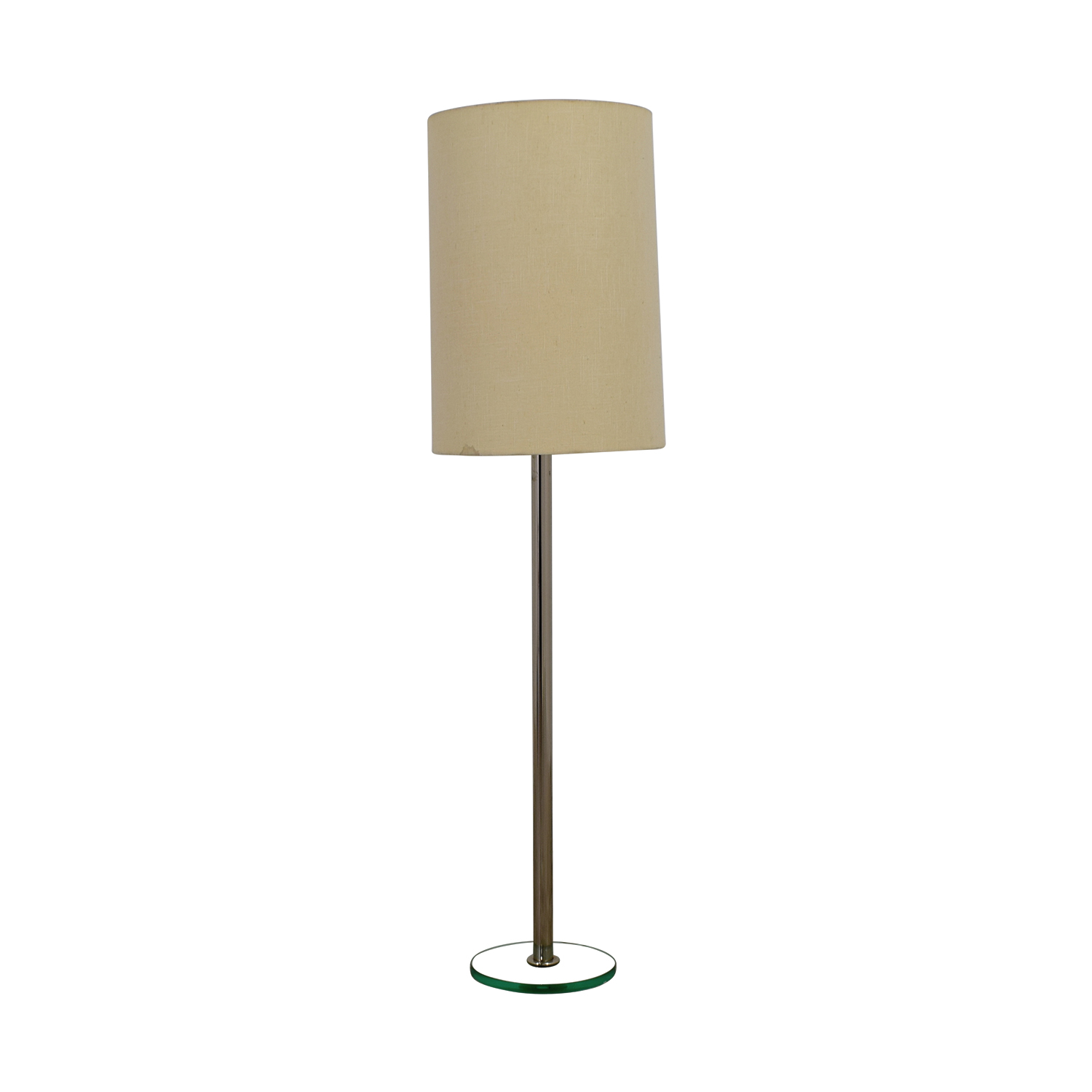 Buy second hand quality used furniture for Floor lamp with silver base
