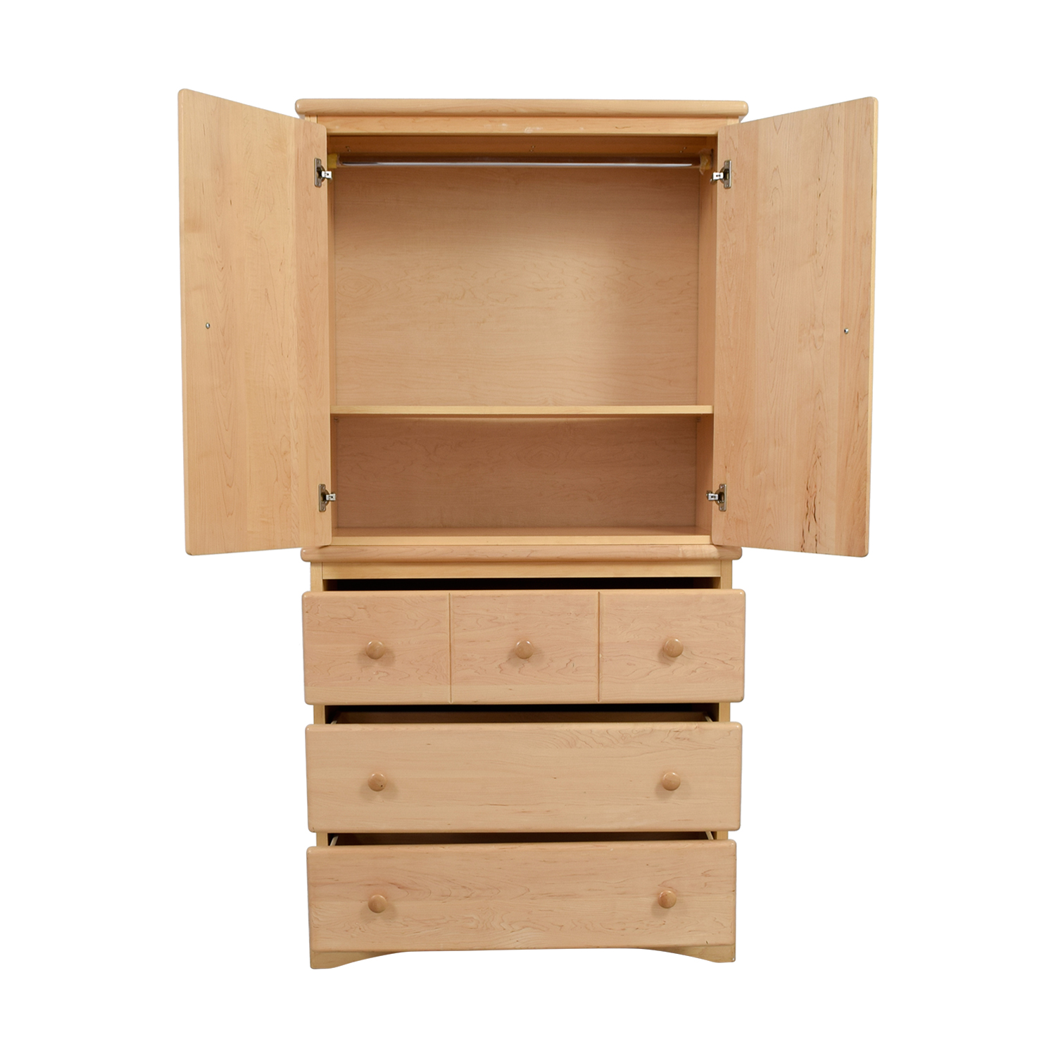 shop Natural Wood Chifferobe