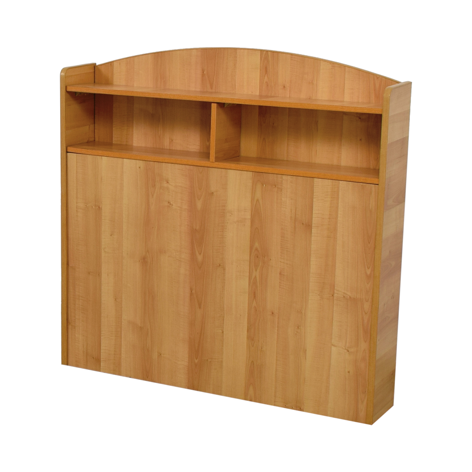 90 Off Captain Pine Wood Twin Headboard With Shelves Beds