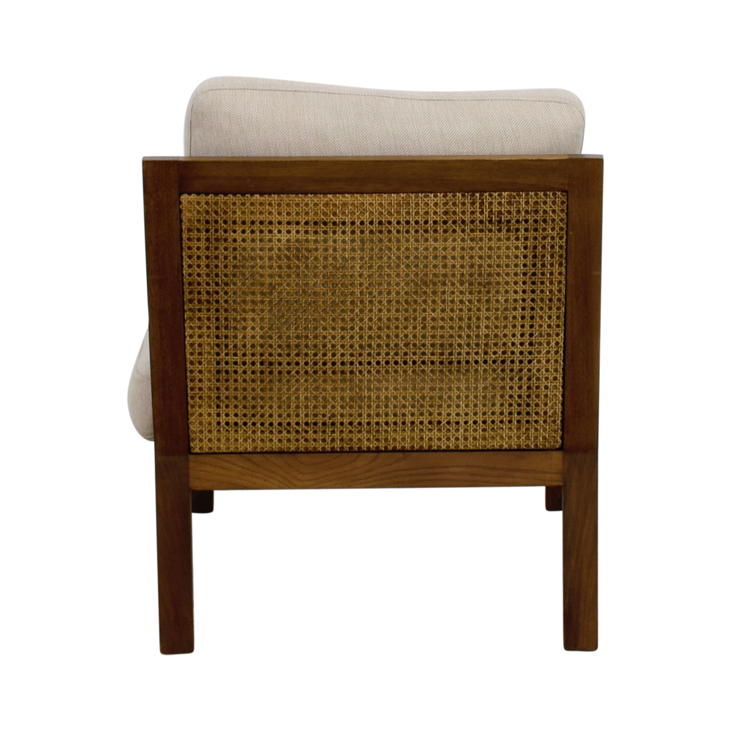 buy Zientte Niebla Beige Accent Chair Zientte