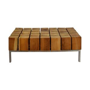 buy Zientte Mondo Cubed Wood Coffee Table Zientte