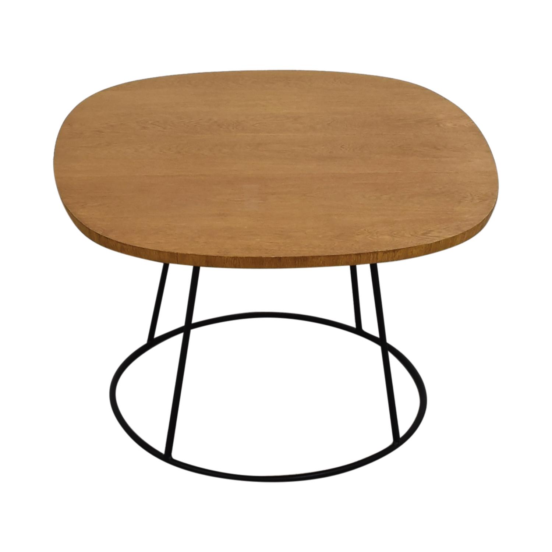 Zientte Sierra Round Cornered Square Side Table Zientte