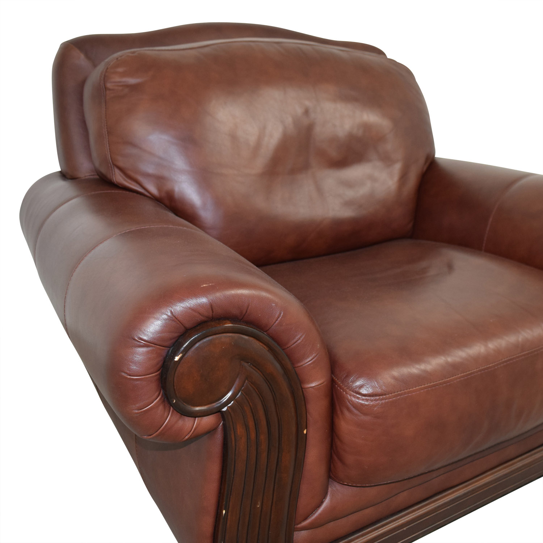 Rooms Go Go: Rooms To Go Rooms To Go Brown Leather Accent