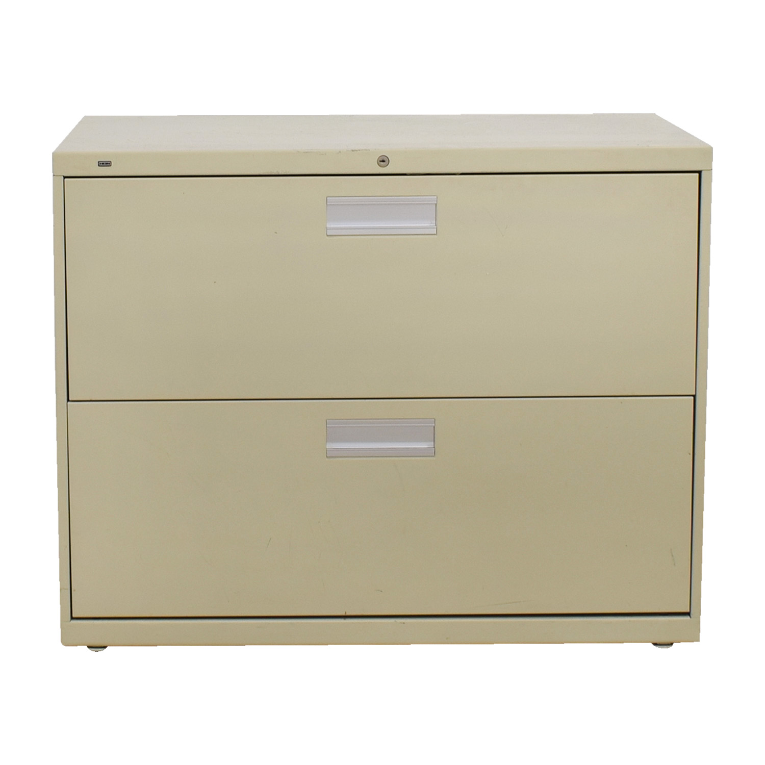 buy Metal Two-Drawer Filing Cabinet online