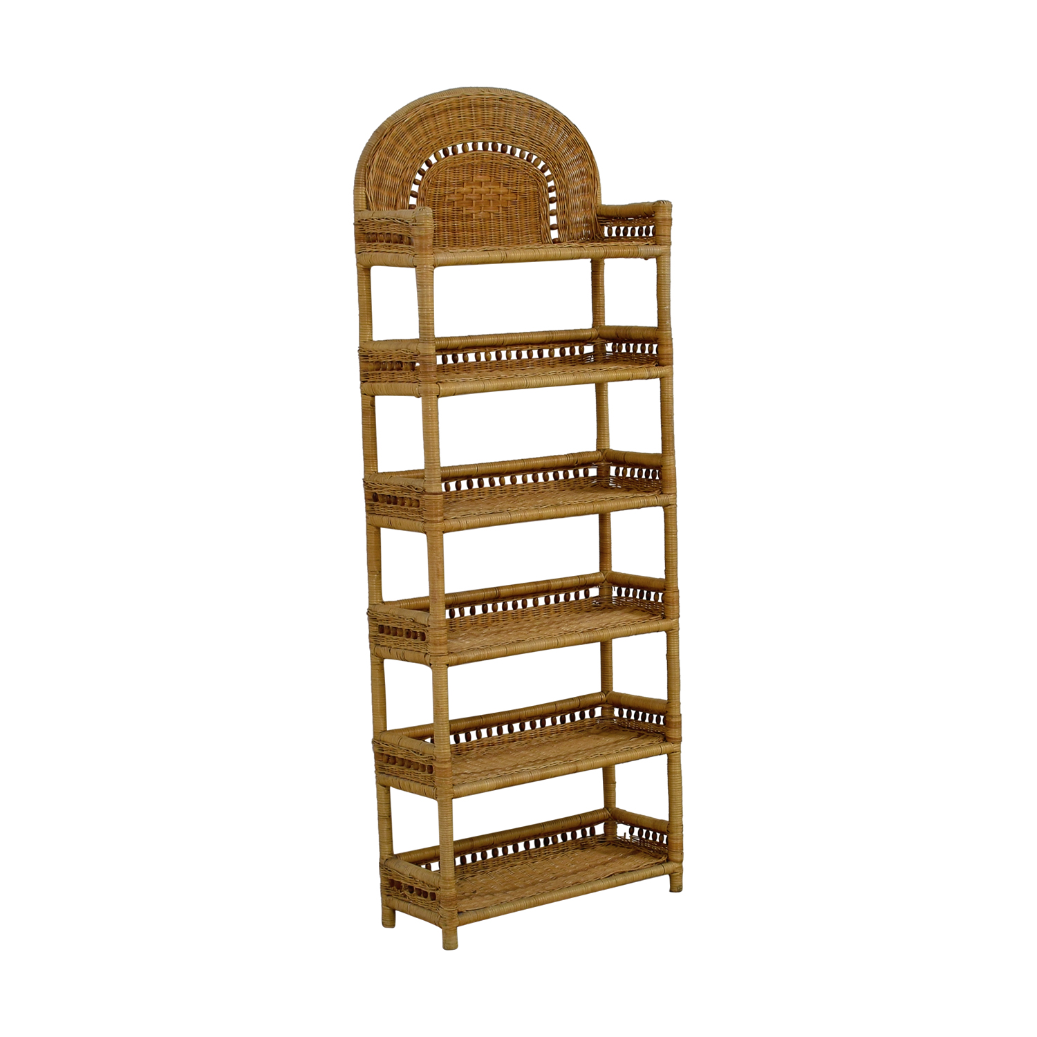 Wicker Book Shelf dimensions