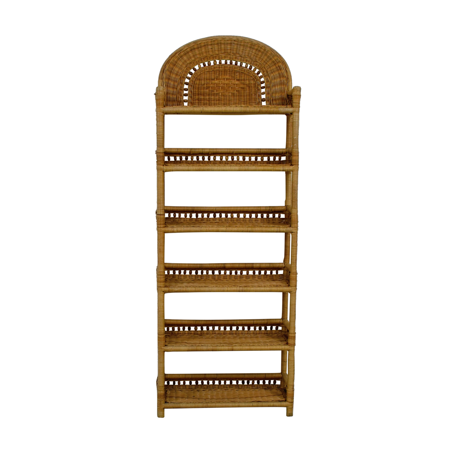 buy Wicker Book Shelf Storage
