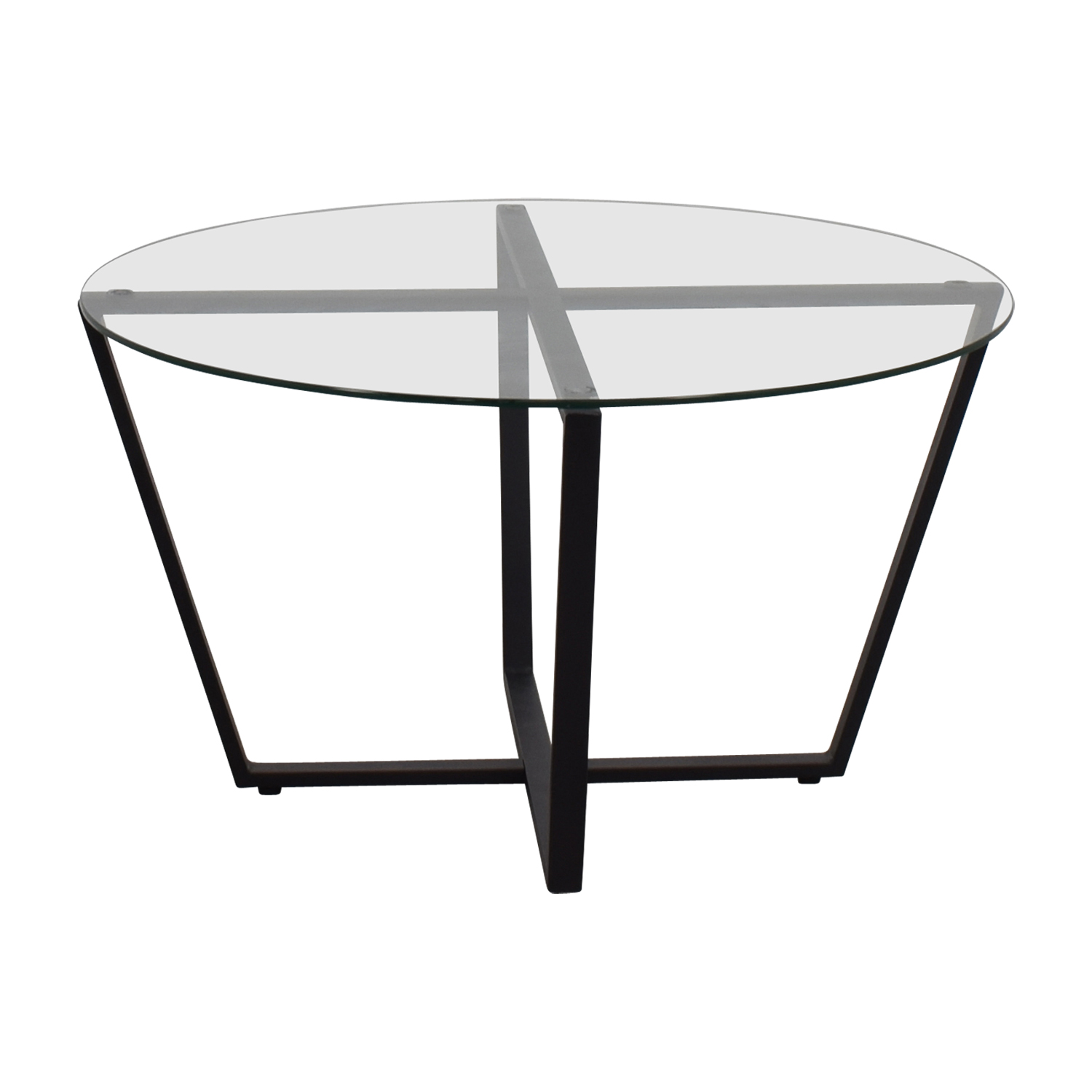 buy Mango Steam Mango Steam Metro Round Glass Coffee Table online