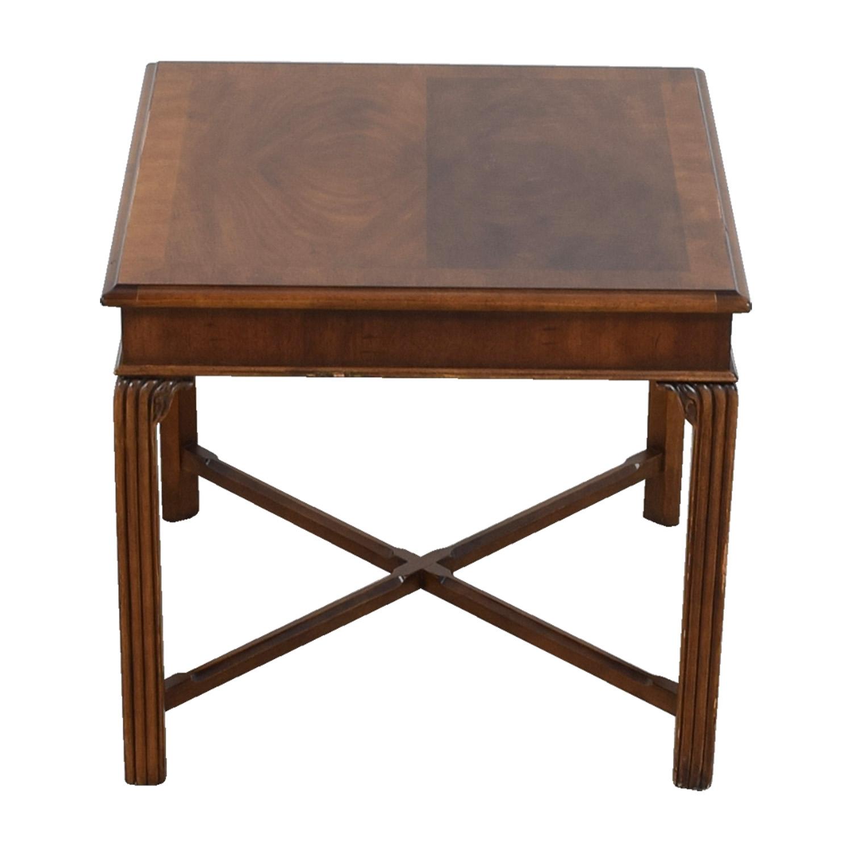 Wood Side Table used