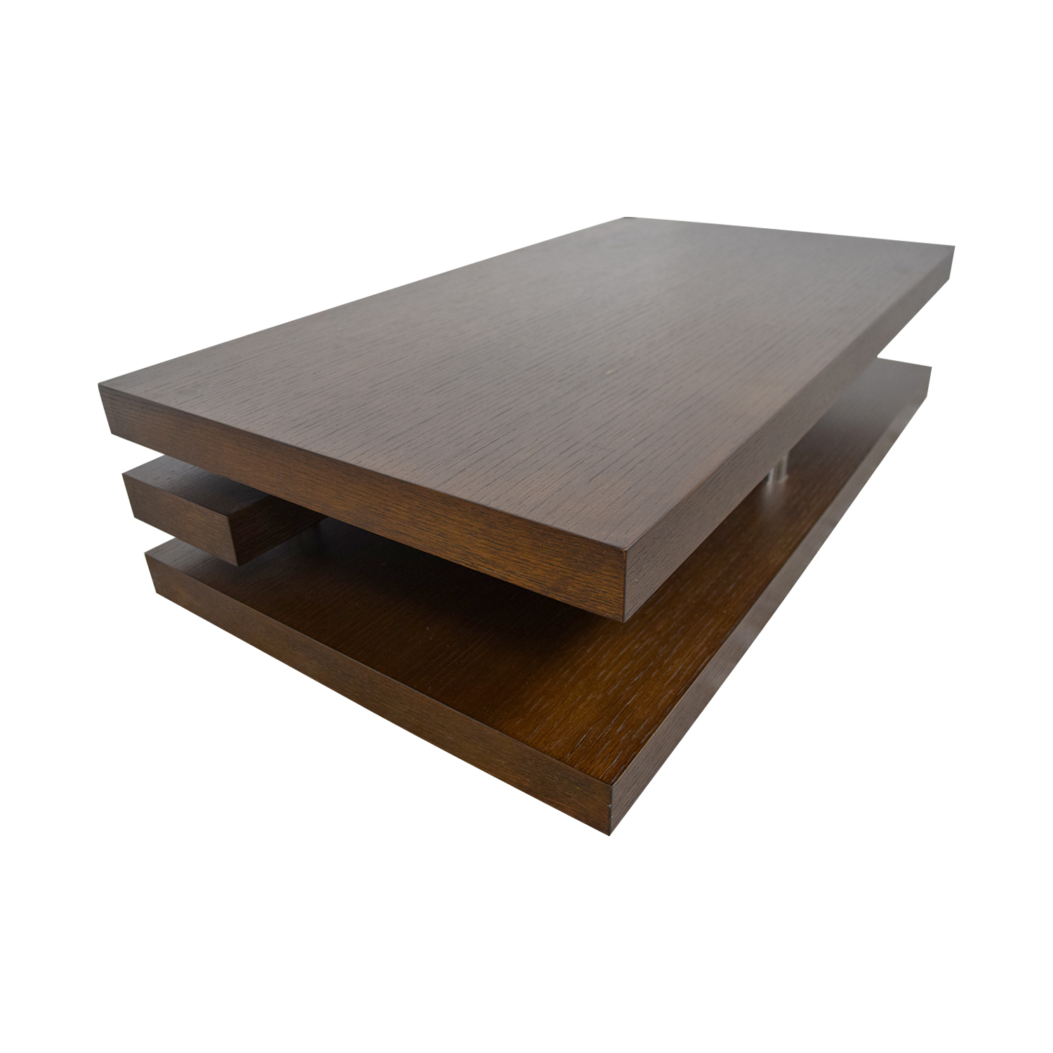 71 Off Brown Coffee Table Tables