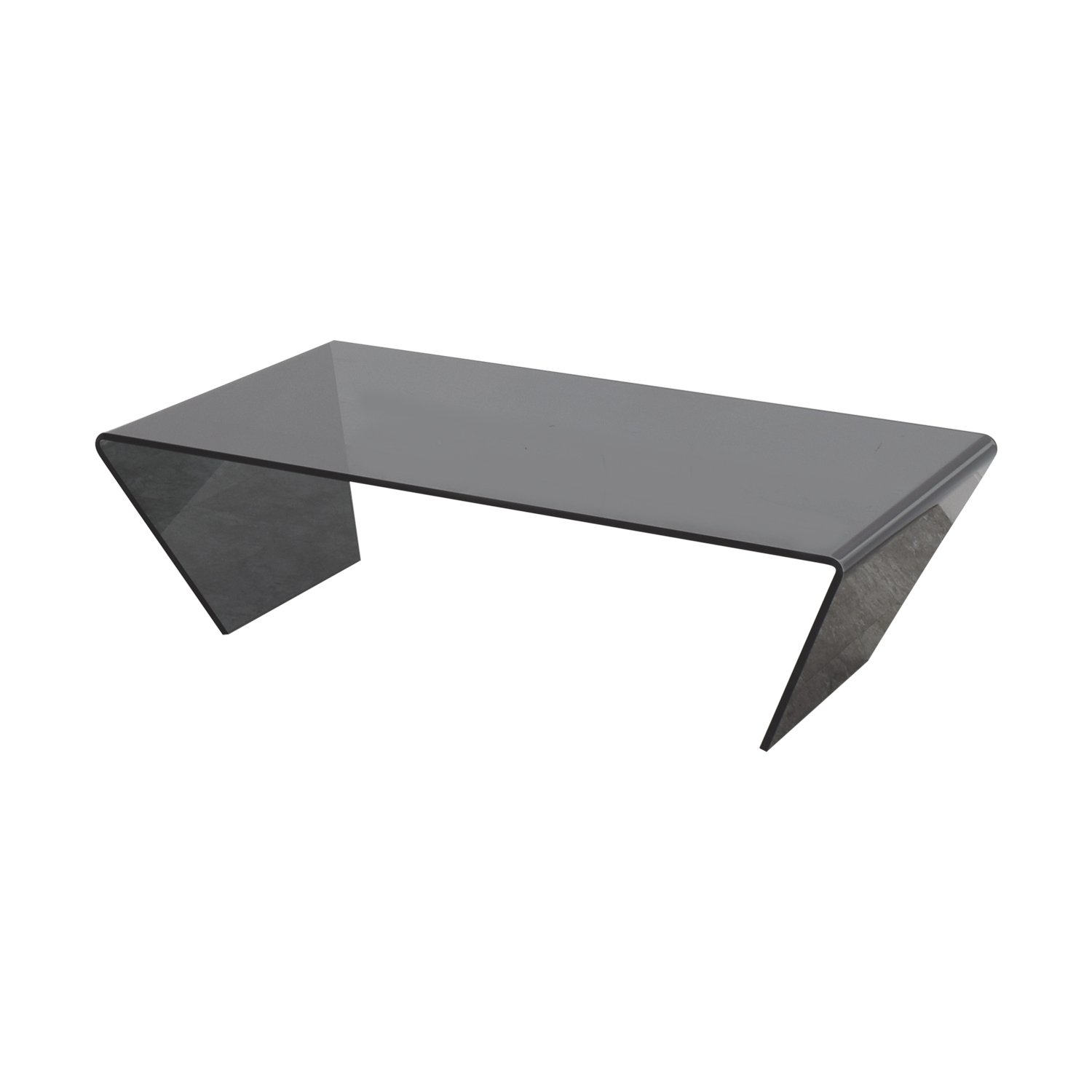 88 off bo concept bo concept black glass cocktail for Buy black coffee table