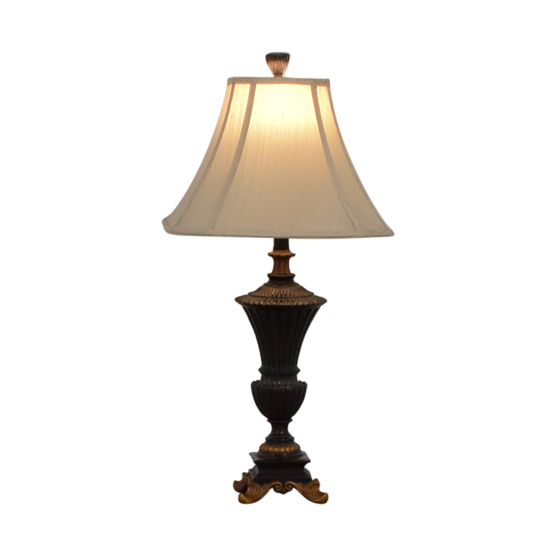 Hampton Bay Brown and Gold Table Lamp / Decor