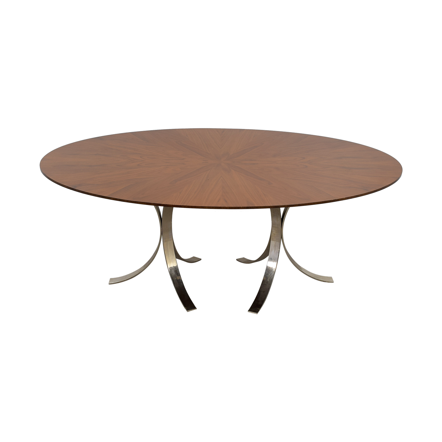 Jonathan Adler Jonathan Adler Oval Wood Table for sale