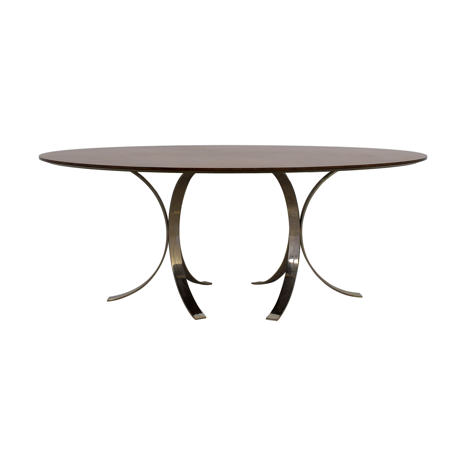 Jonathan Adler Jonathan Adler Oval Wood Table discount