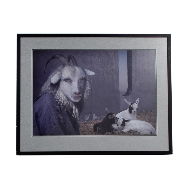 Daniel Lee Daniel Lee Shepard Framed Print Wall Art