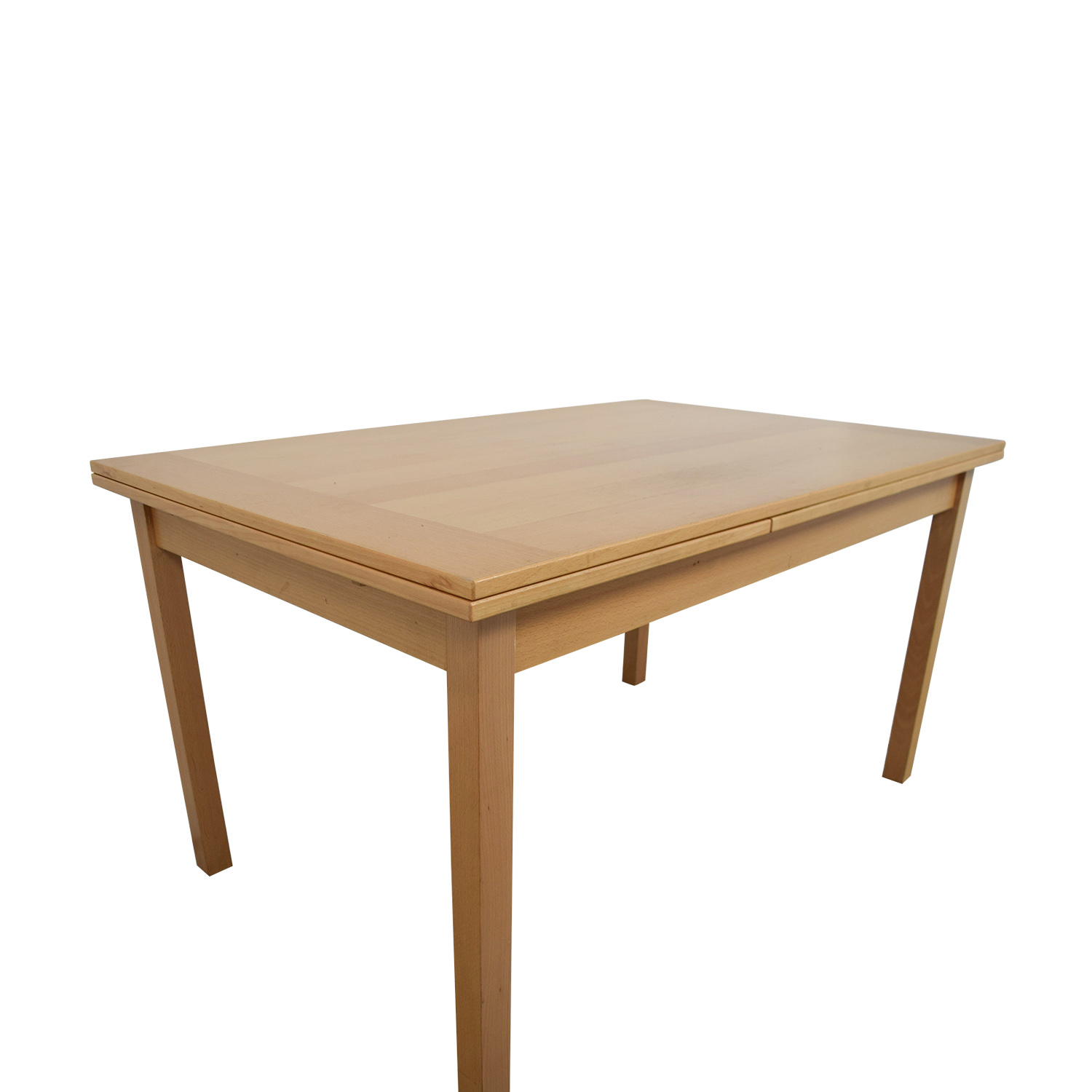 buy online 072a1 59d26 77% OFF - Workbench Workbench Extendable Pull-Out Dining Table / Tables