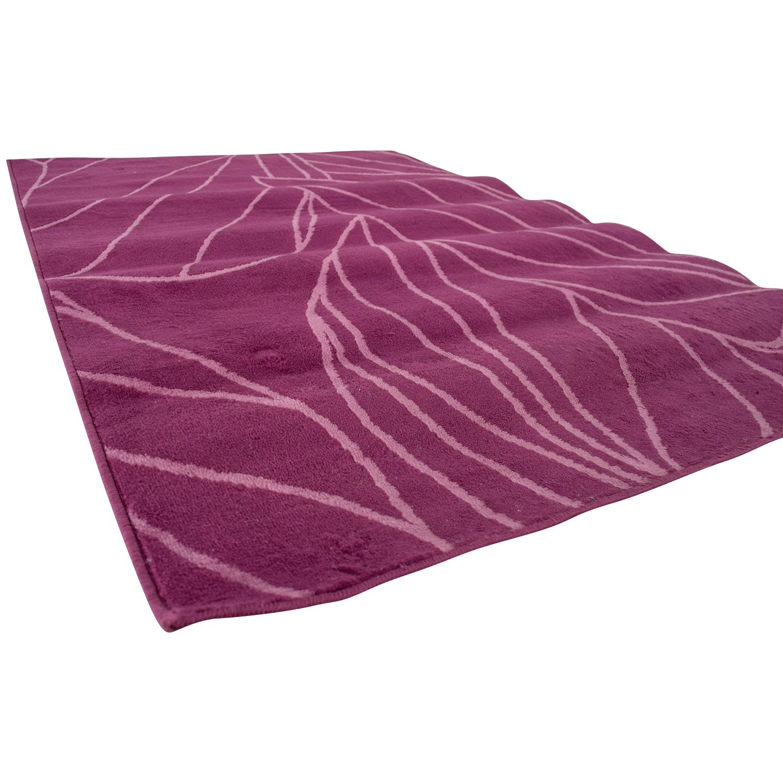 71 Off Ikea Purple And Pink Rug