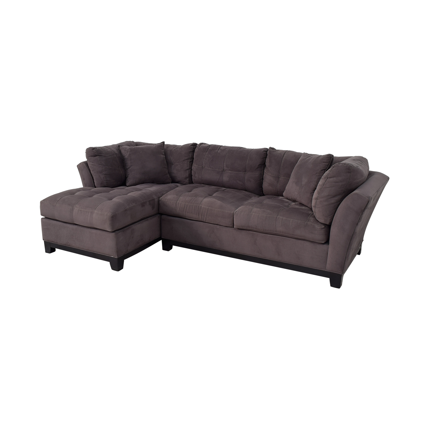 64 Off Raymour Flanigan Cindy Crawford Home Microfiber Sofa