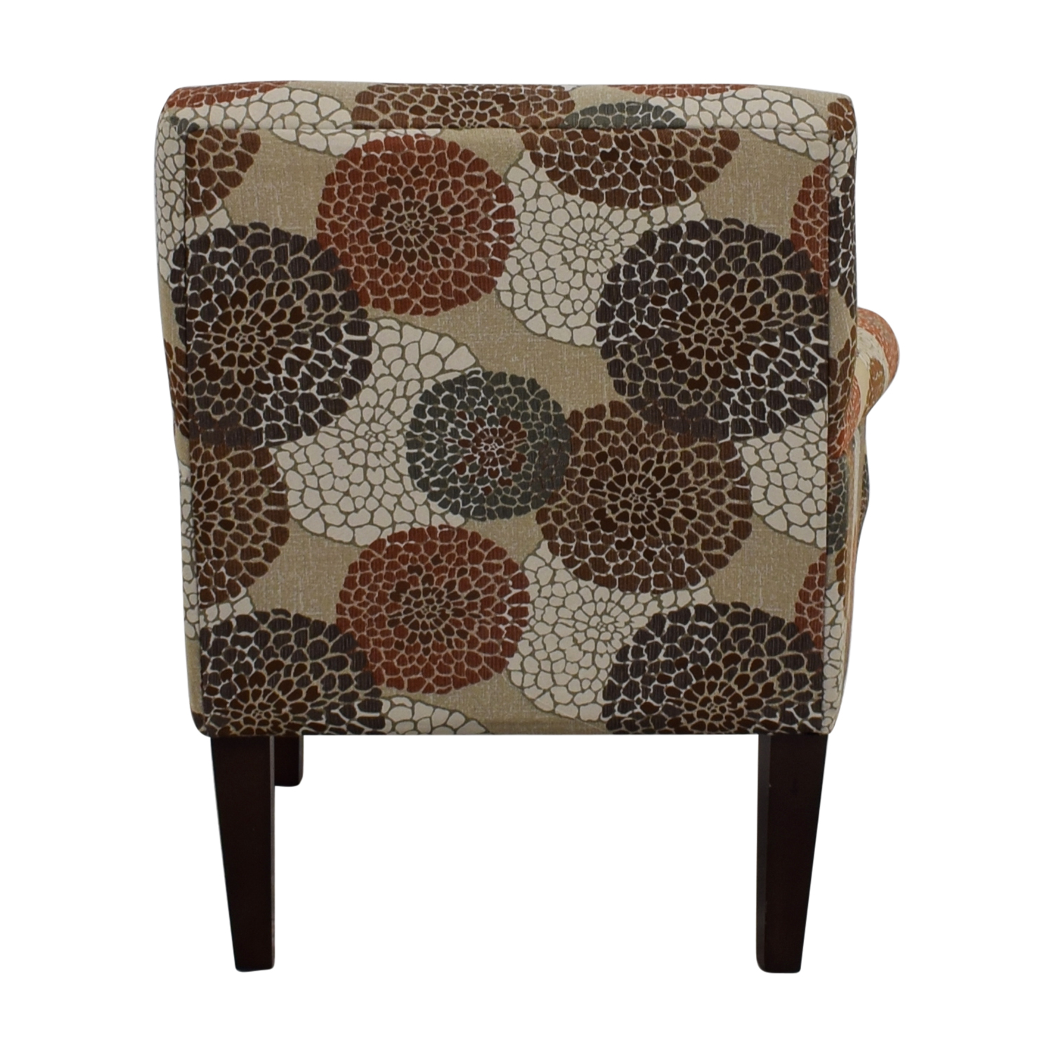 Raymour & Flanigan Multi-Colored Floral Accent Chair sale