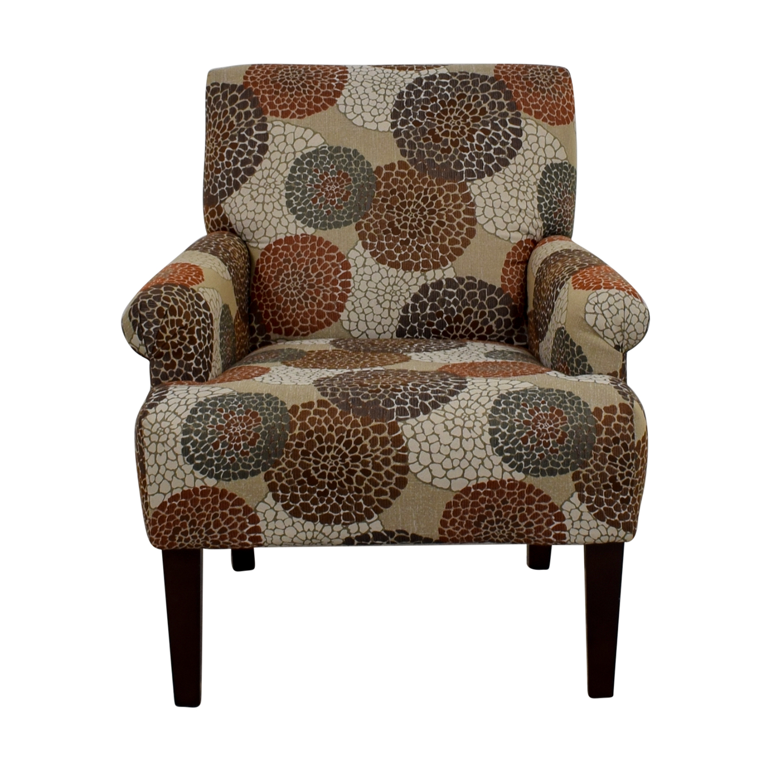 Raymour & Flanigan Raymour & Flanigan Multi-Colored Floral Accent Chair used