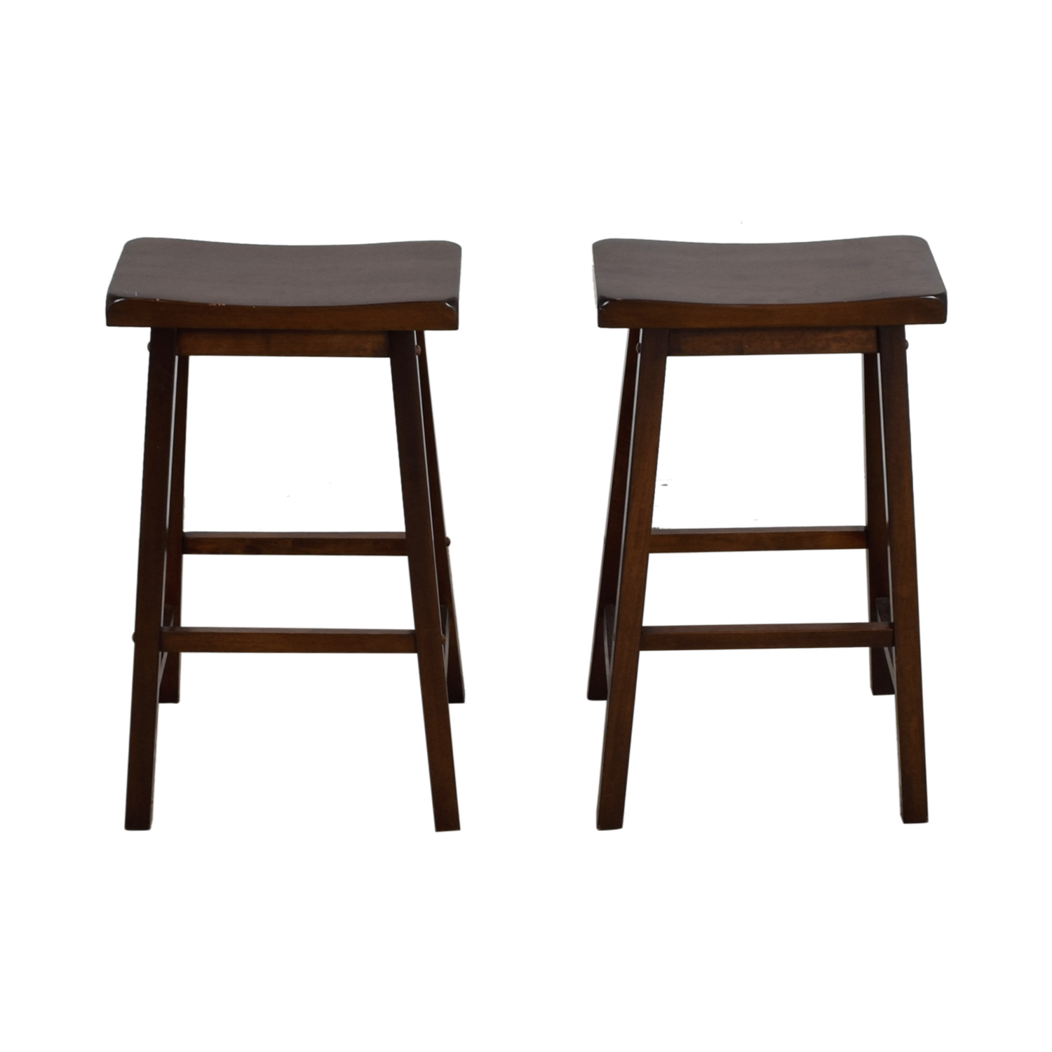 shop Curved Seat Wood Stools Stools