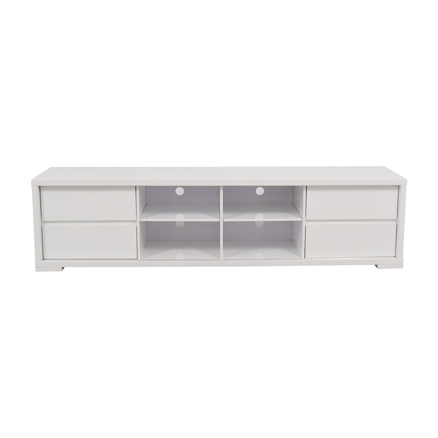 Casabianca Casabianca Life Collection White Media Unit nj
