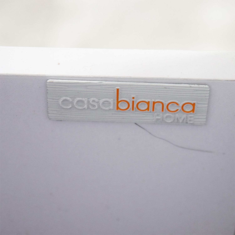 Casabianca Casabianca Life Collection White Media Unit discount