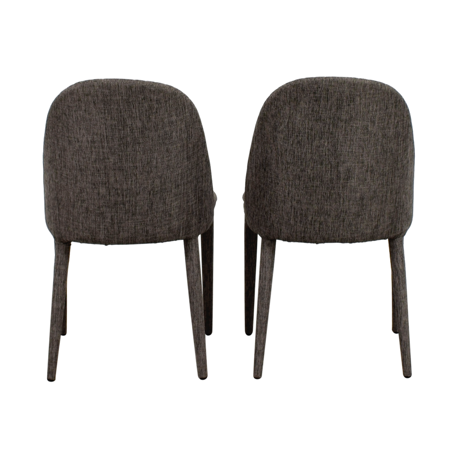 Mercury Row Mercury Row Artrip Grey Upholstered Dining Chairs coupon