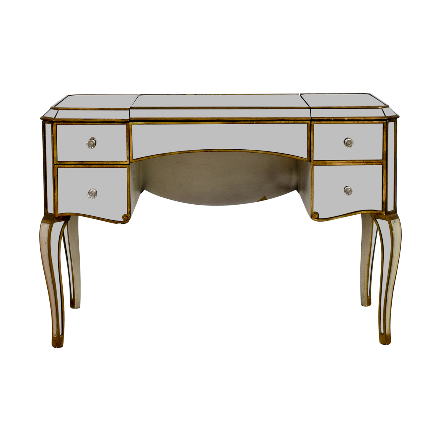 Horchow Claudia Mirrored Desk Nyc