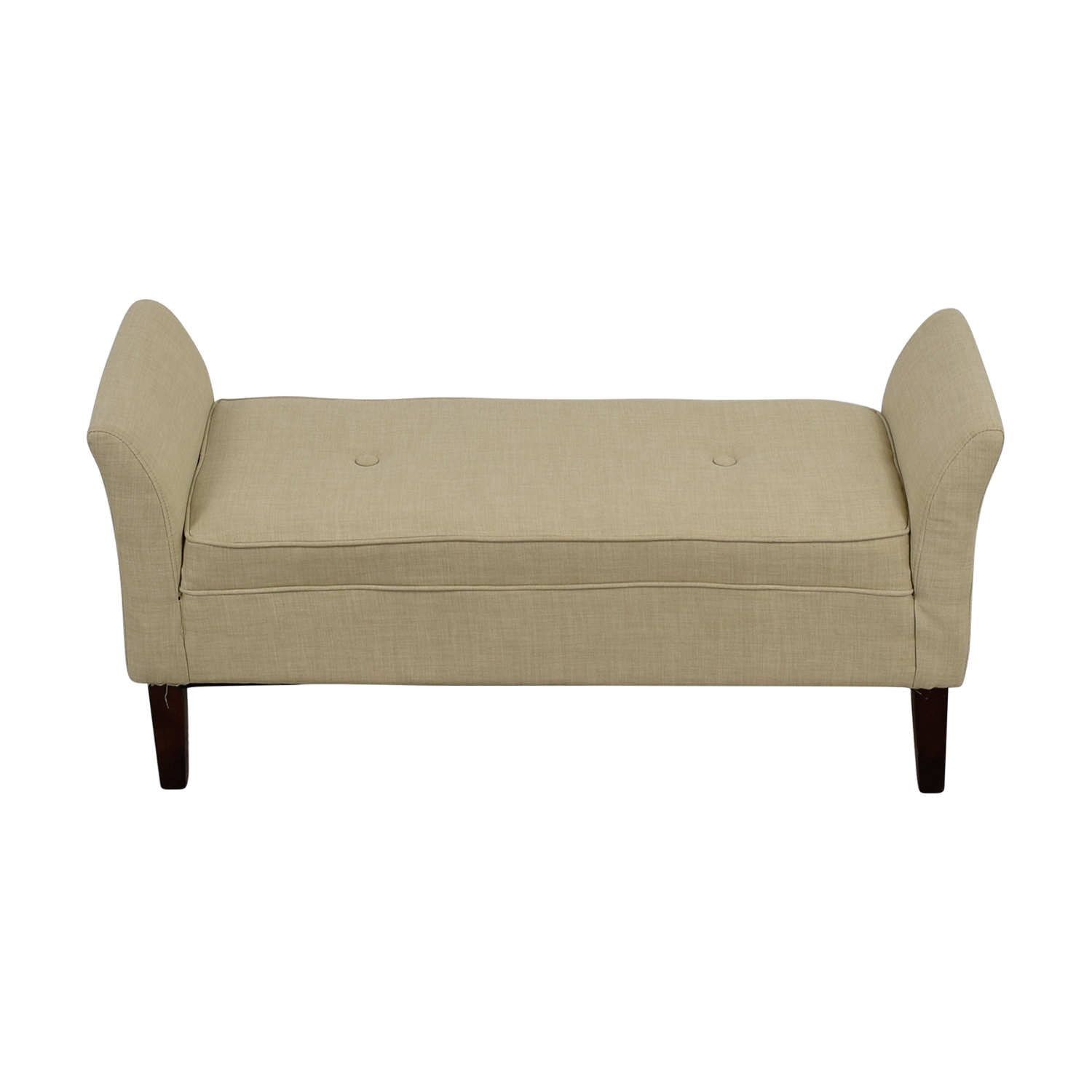 Threshold Threshold Beige Settee Bench on sale