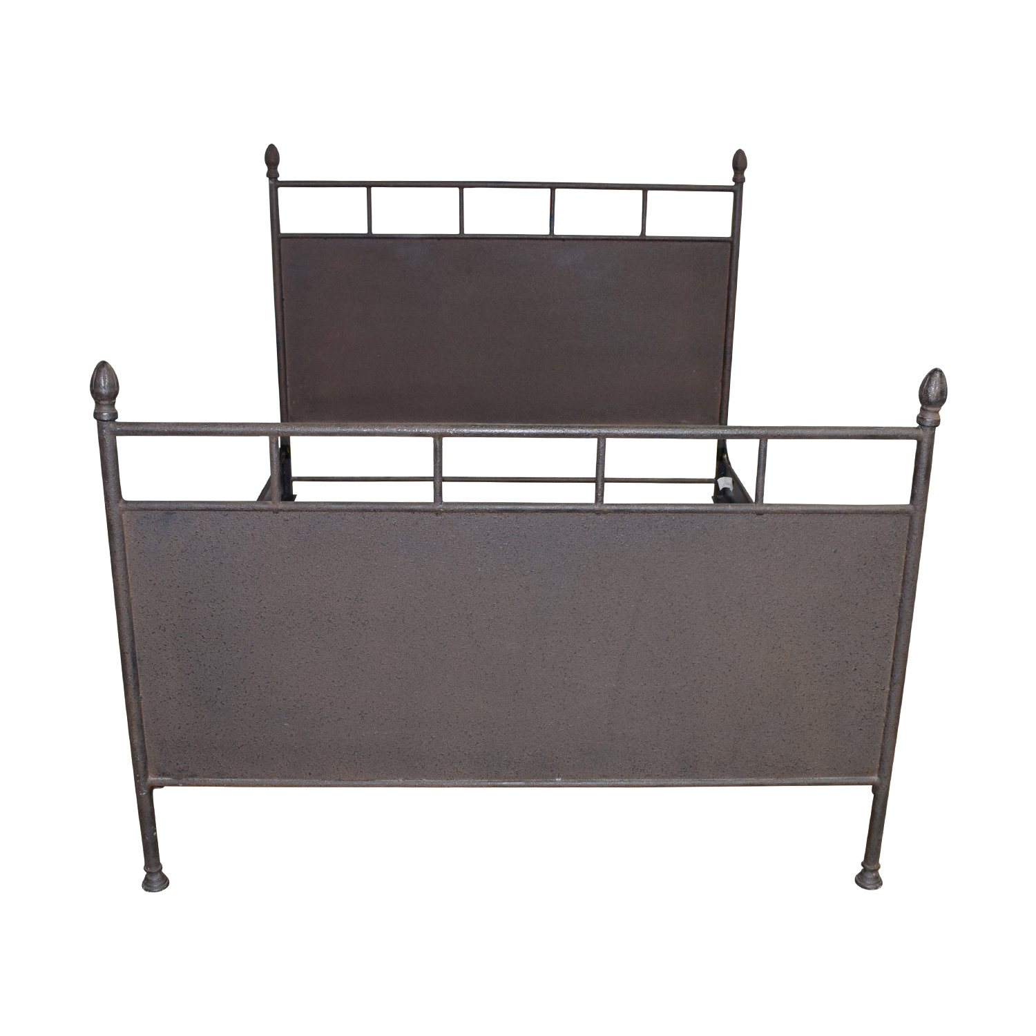 shop Restoration Hardware Rustic Metal Queen Bed Restoration Hardware Beds