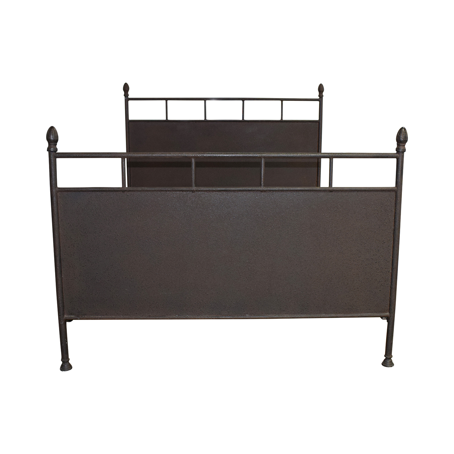 buy Restoration Hardware Rustic Metal Queen Bed Restoration Hardware