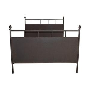 Restoration Hardware Rustic Metal  Queen Bed sale