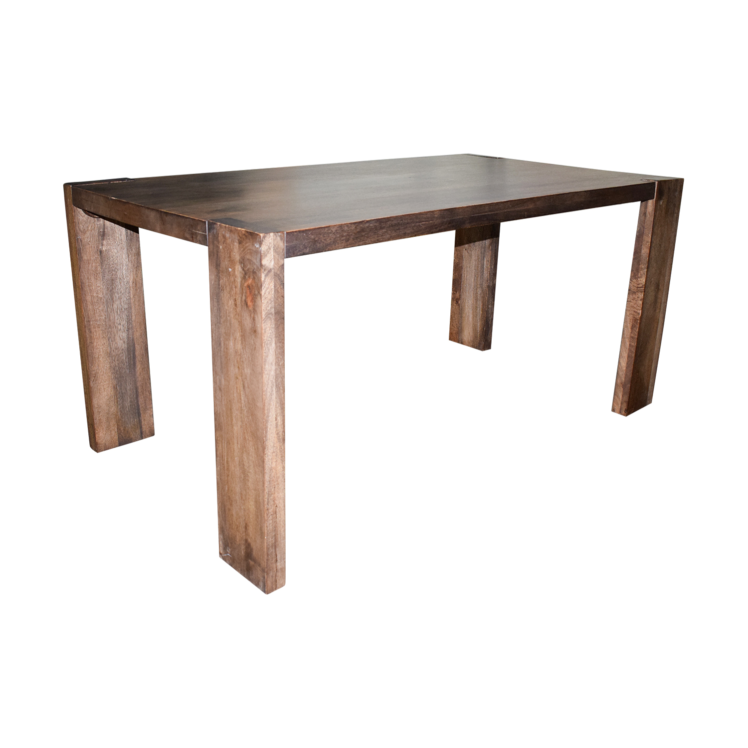 OFF CB2 CB2 Rustic Wood Dining Table Tables