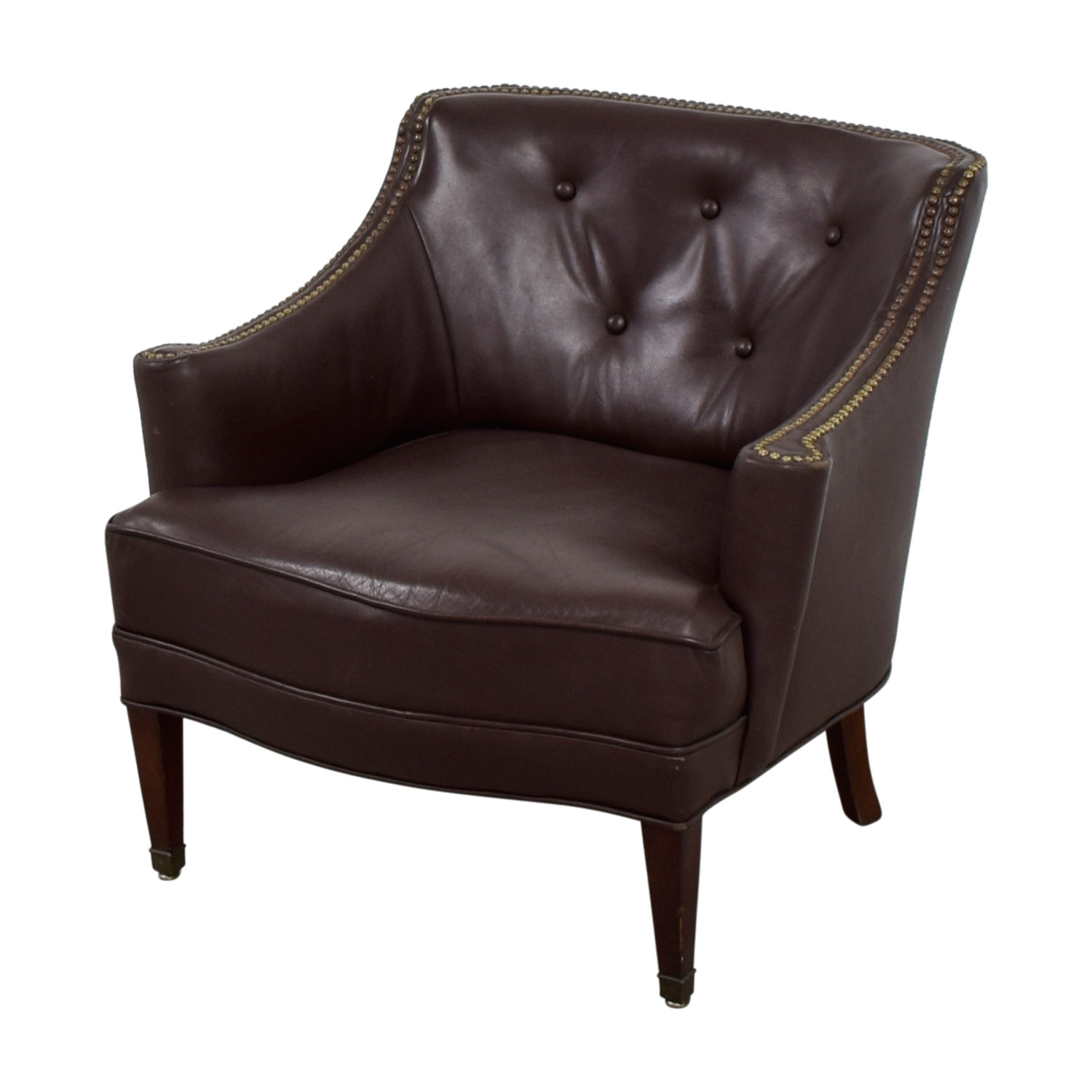 One Furniture: Pier 1 Imports Pier 1 Imports Brown Leather
