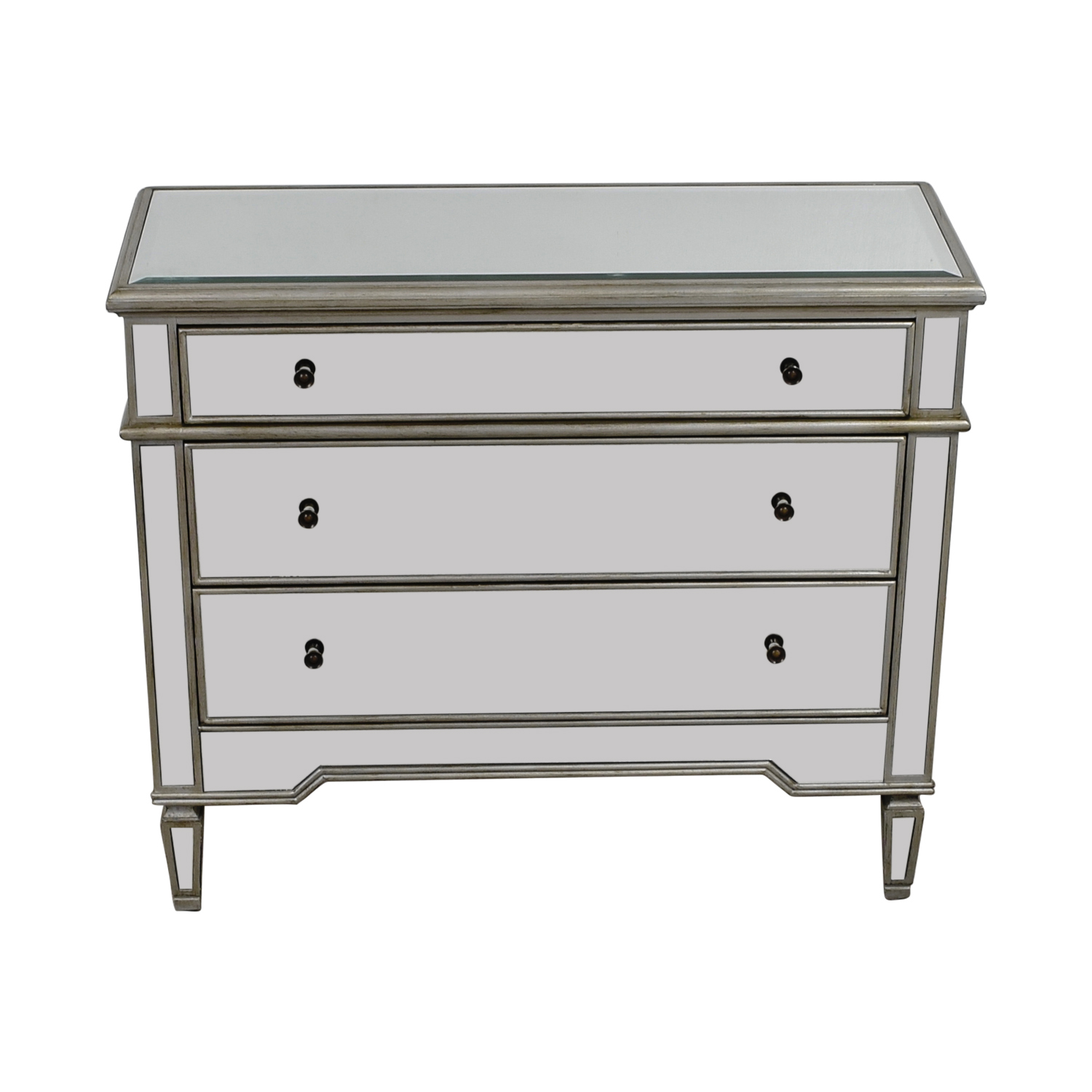 shop Pier 1 Imports Pier 1 Imports Silver Mirrored Three-Drawer Dresser online