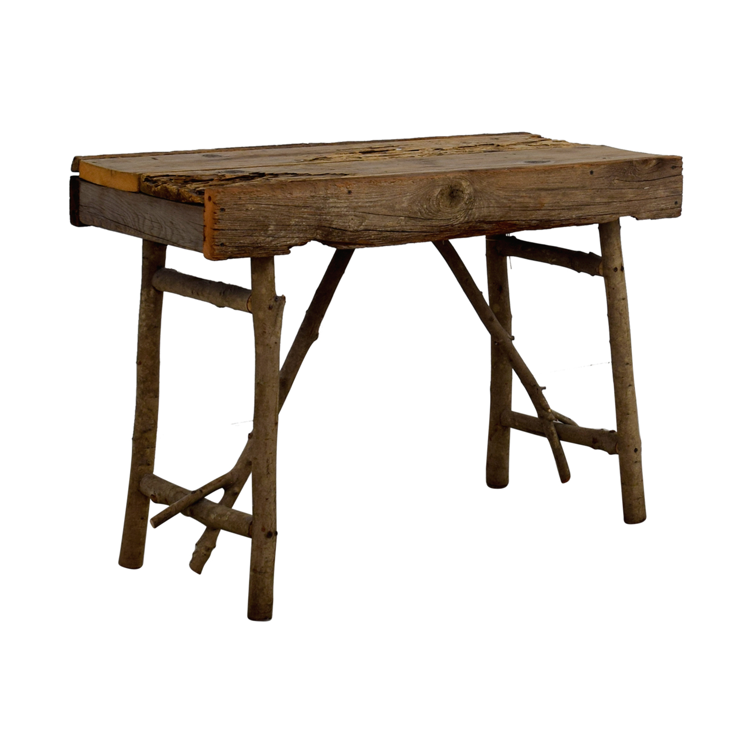 ... Pier 1 Imports Pier 1 Imports Rustic Wood TV Table For Sale ...
