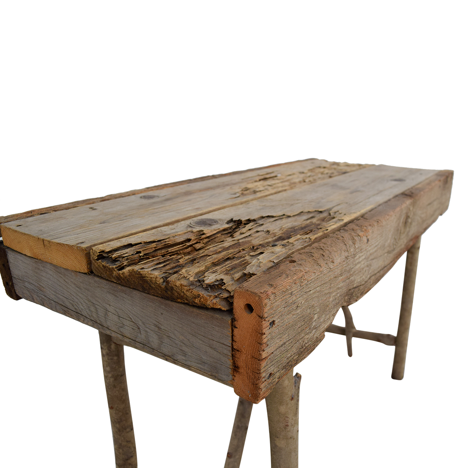 Pier 1 Pier 1 Imports Rustic Wood TV Table / Tables