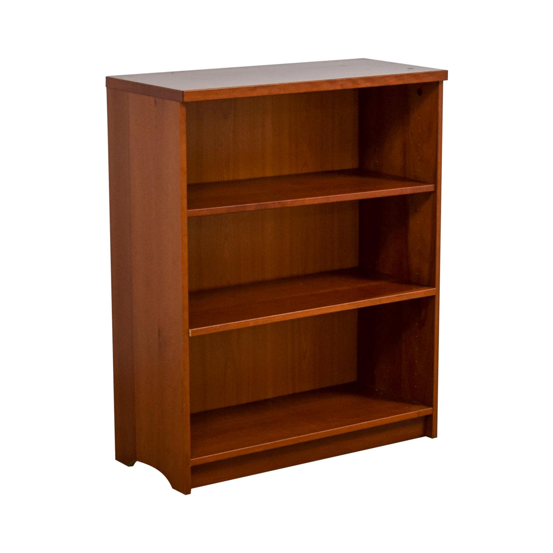 walmart revolving folding with ladder three oak a bookcase shelf