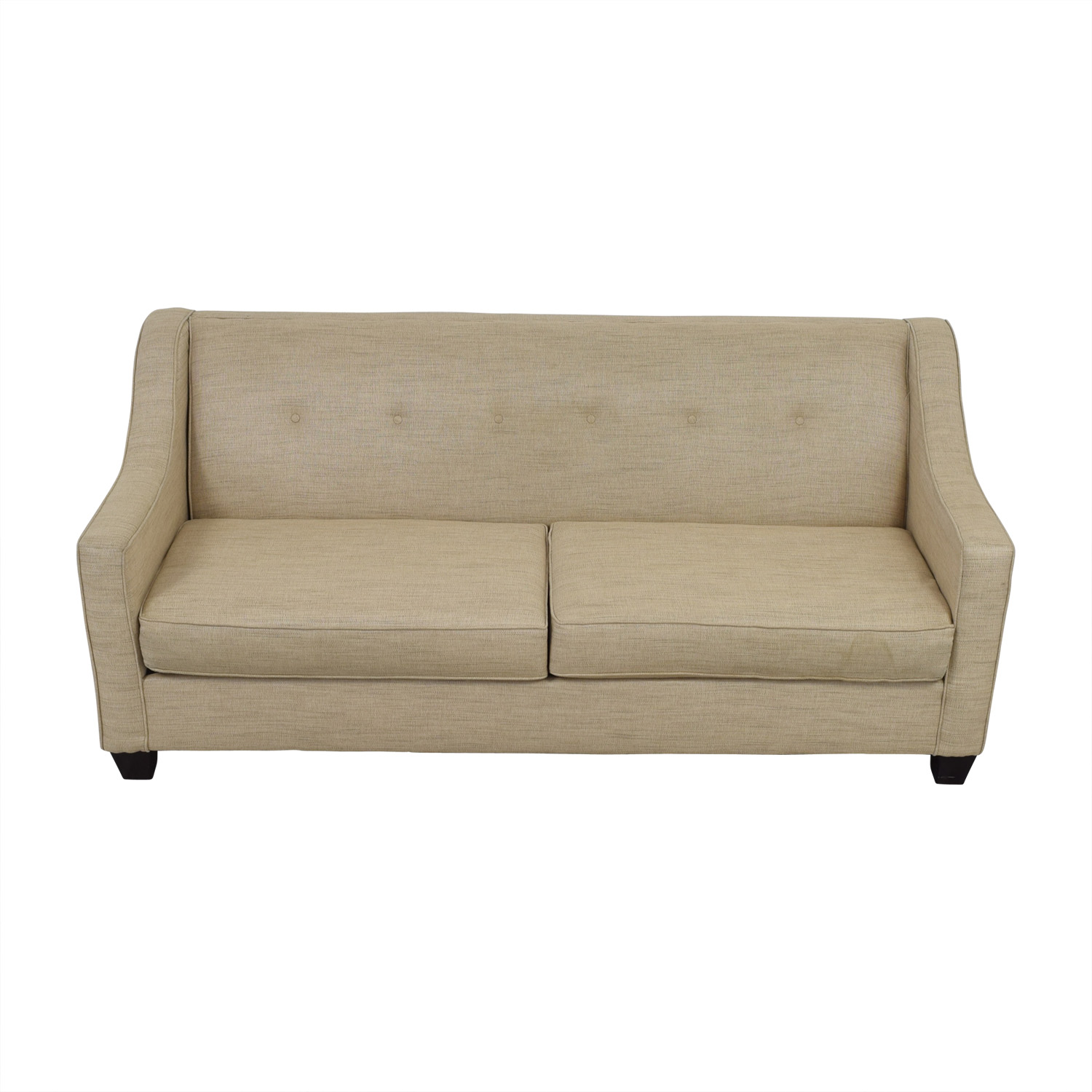75 off bob39s furniture bob39s furniture beige tufted for Bobs used furniture