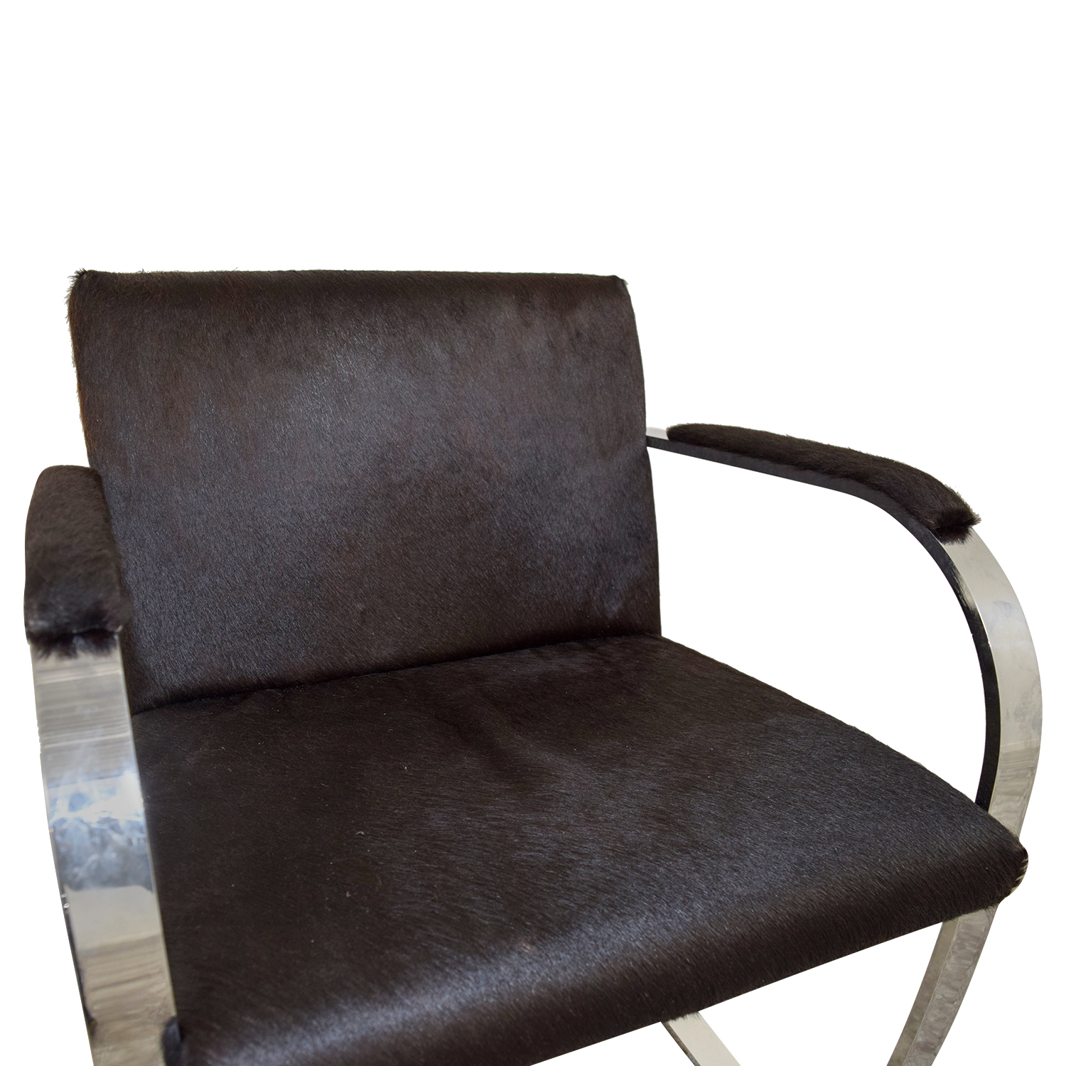 Soho Concept Furniture Soho Concept Furniture Black Pony Skin Accent Chair nyc