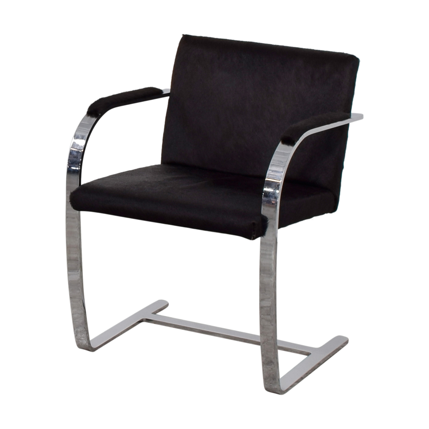 Soho Concept Furniture Soho Concept Furniture Black Pony Skin Accent Chair second hand