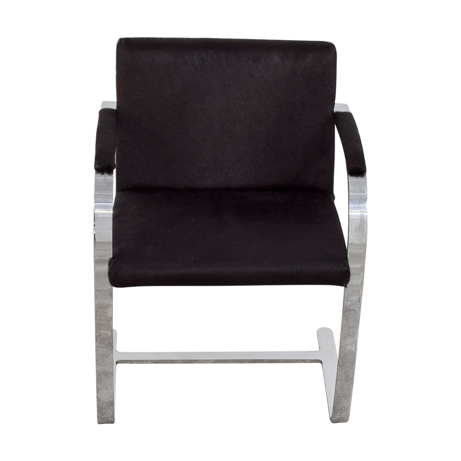 Soho Concept Furniture Soho Concept Furniture Black Pony Skin Accent Chair price
