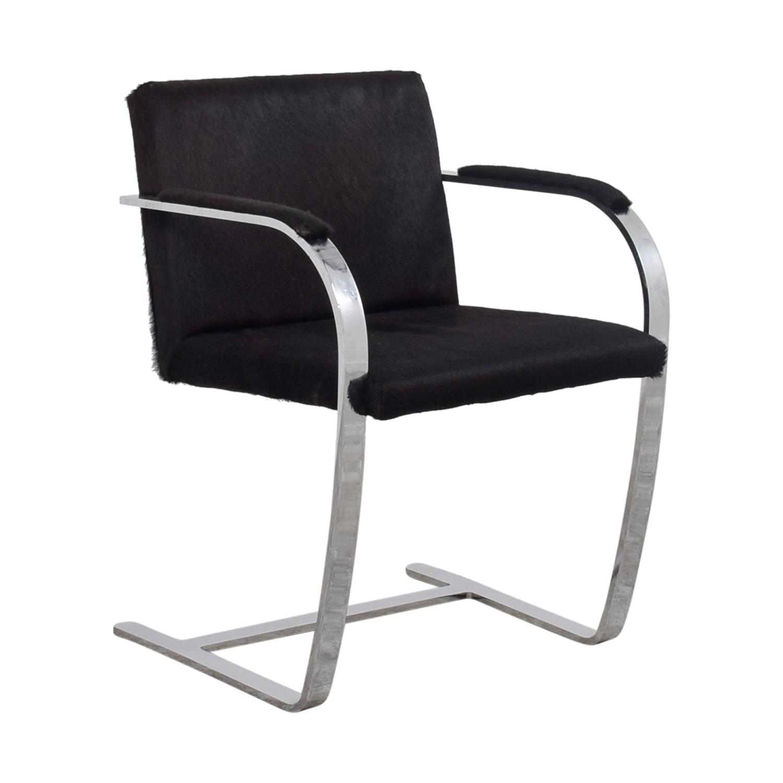 shop Soho Concept Furniture Black Pony Skin Accent Chair Soho Concept Furniture Chairs