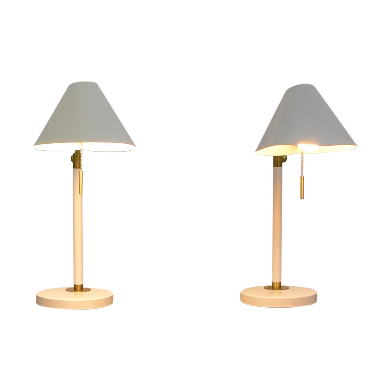 West Elm West Elm White Lamps Lamps