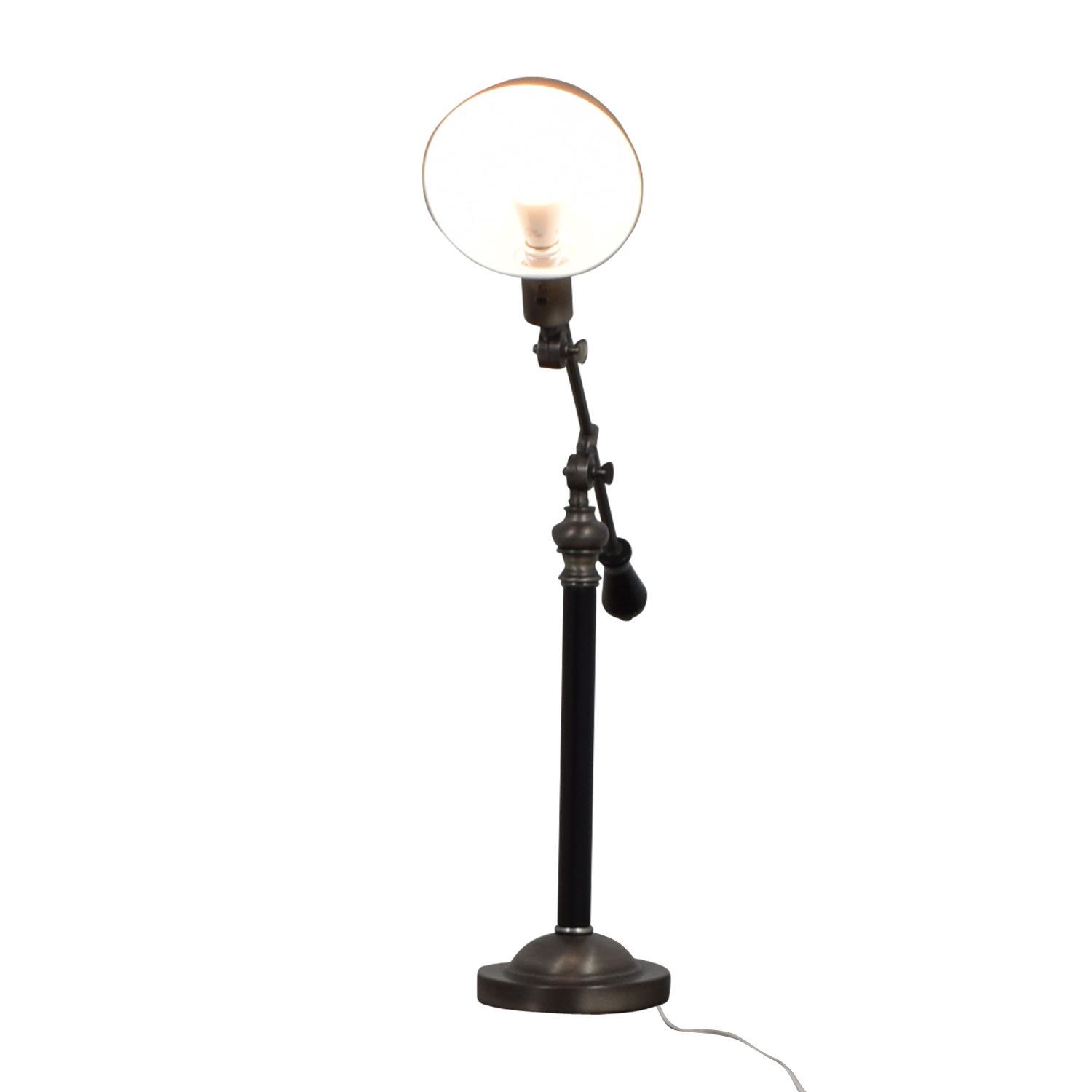West Elm West Elm Industrial Silver Desk Lamp