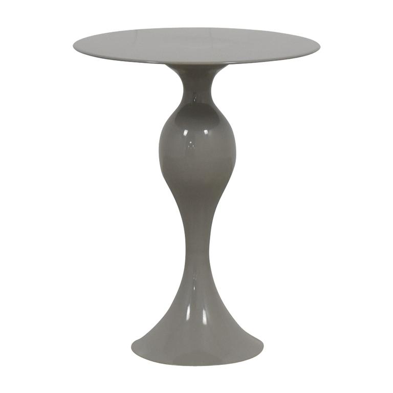 shop West Elm West Elm Gray Round End Table online