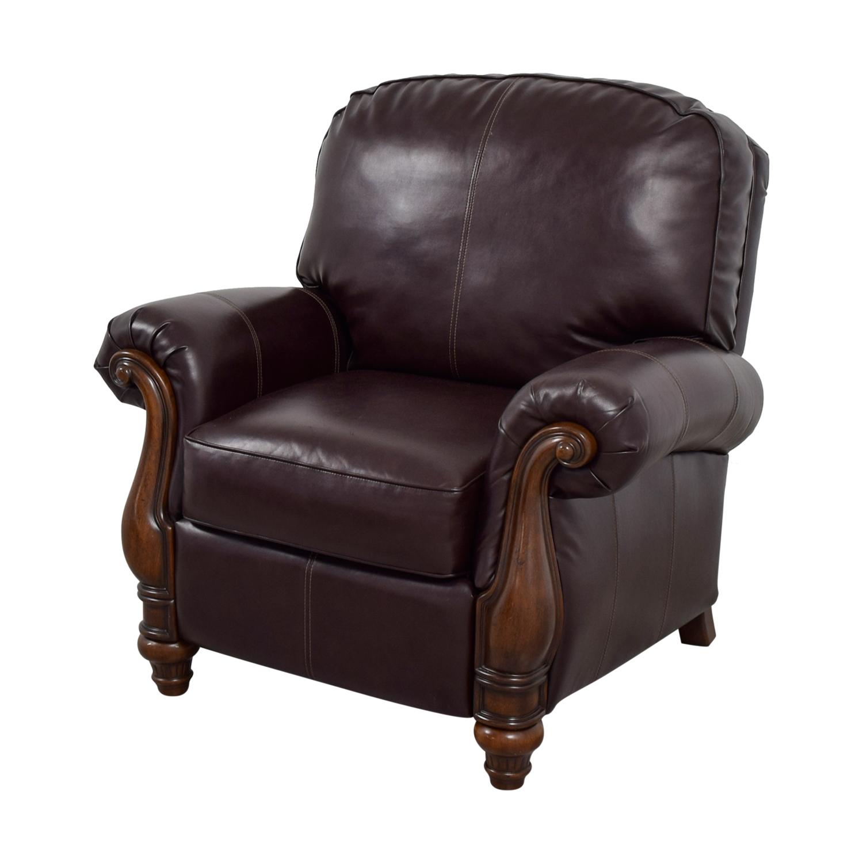 61 Off Ashley Furniture Ashley Furniture Brown Arm Chair Chairs
