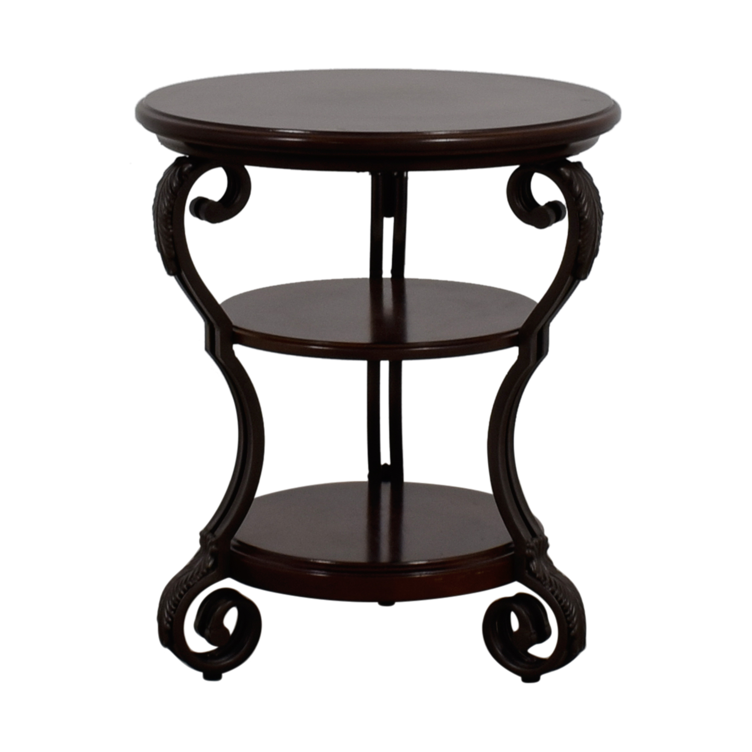 Ashley Furniture Ashley Furniture Round Wood End Table nyc