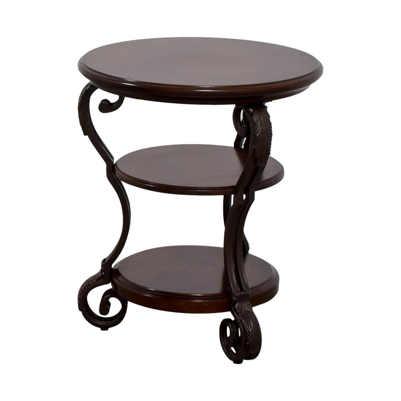 Ashley Furniture Ashley Furniture Round Wood End Table nyc